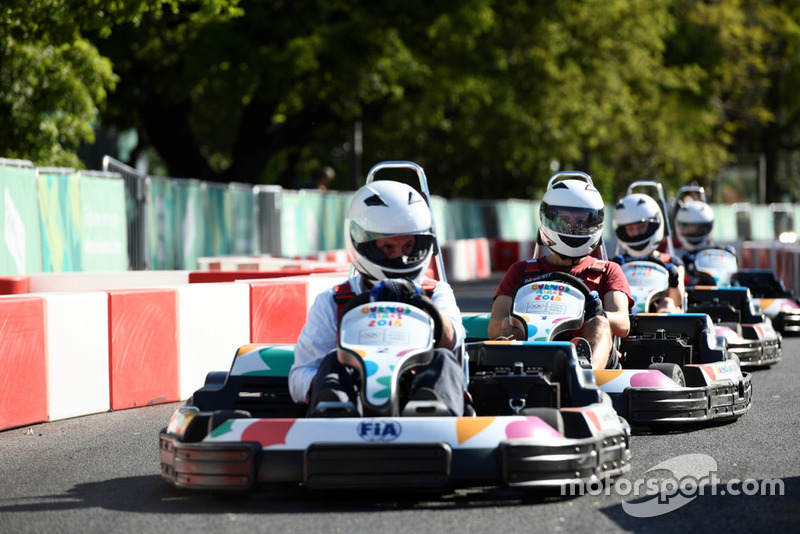 FIA Karts Juegos Olímpicos Juventud, en Buenos Aires