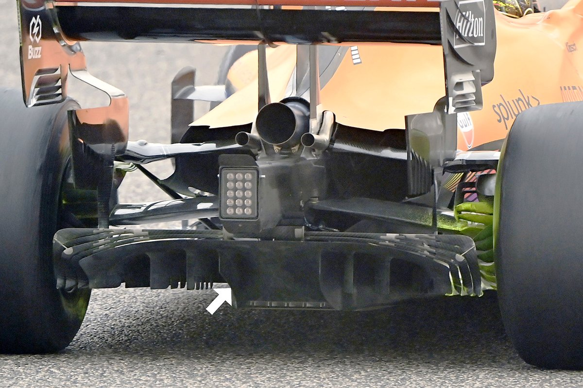 McLaren MCL35M rear detail