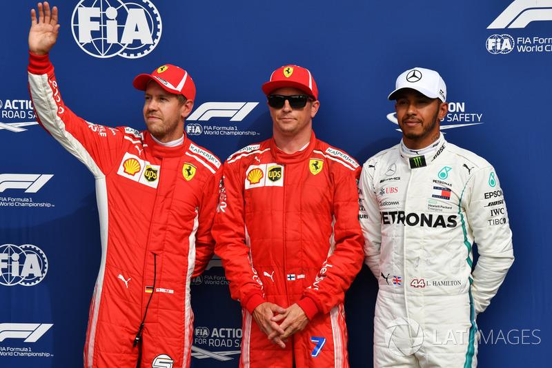 Kimi Räikkönen és a szombati rajtelsőség Monzában