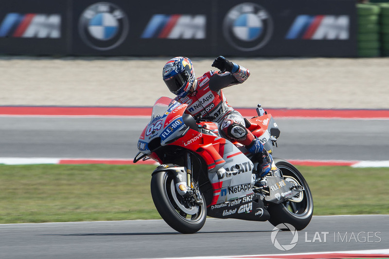 GP de San Marino: Andrea Dovizioso, Ducati Team