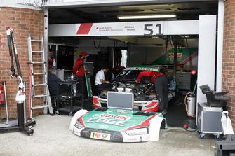 The car of Nico Müller, Audi Sport Team Abt Sportsline