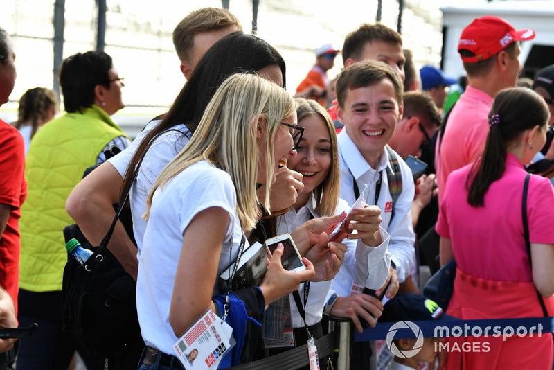 Csütörtöki képgaléria Szocsiból - F1 2018