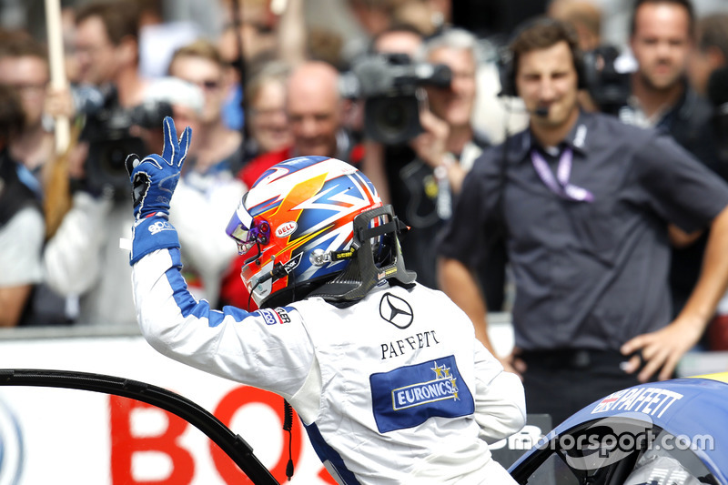 second place for Gary Paffett, Mercedes-AMG Team ART, Mercedes-AMG C63 DTM