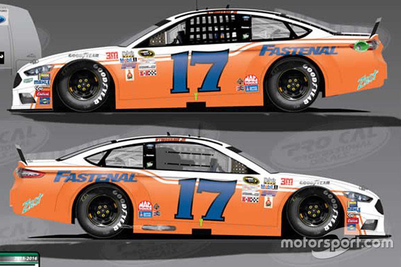 Ricky Stenhouse Jr., Roush Fenway Racing Ford, livrea speciale