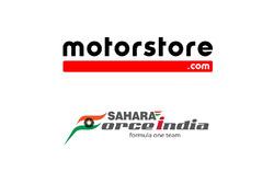 Motorstore.com and Sahara Force India announcement