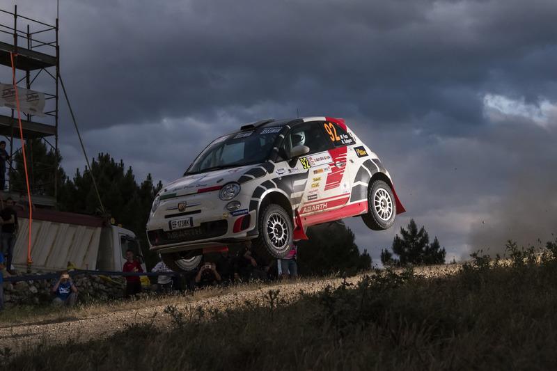 Matteo Fusi, Nicolò Salgaro, Abarth 500 R3T