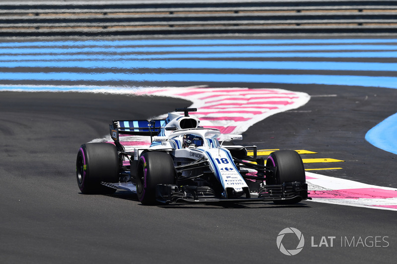19: Lance Stroll, Williams FW41, 1'33.729