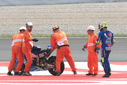 Andrea Iannone, Team Suzuki MotoGP after the crash
