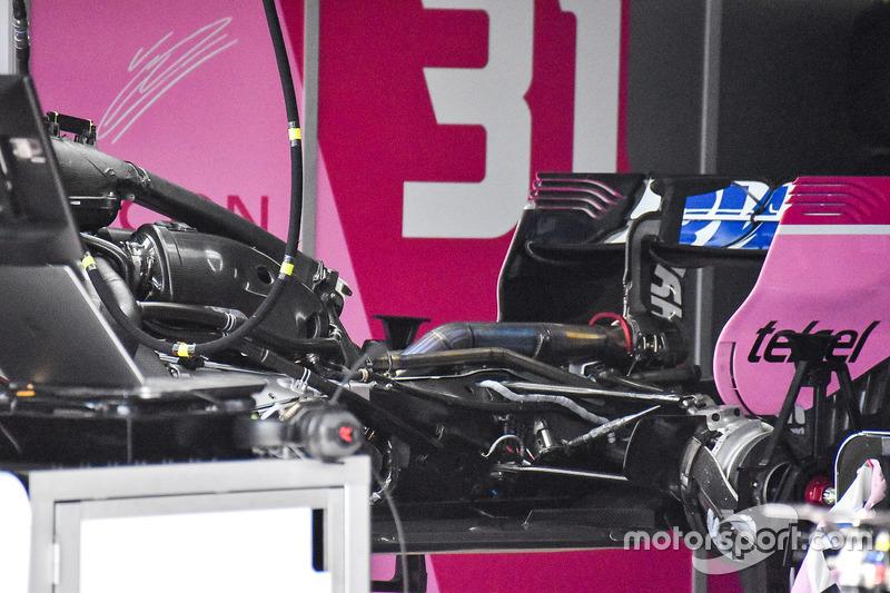 Силовая установка Force India VJM11