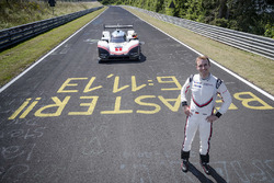 Timo Bernhard with the Porsche 919 Hybrid Evo