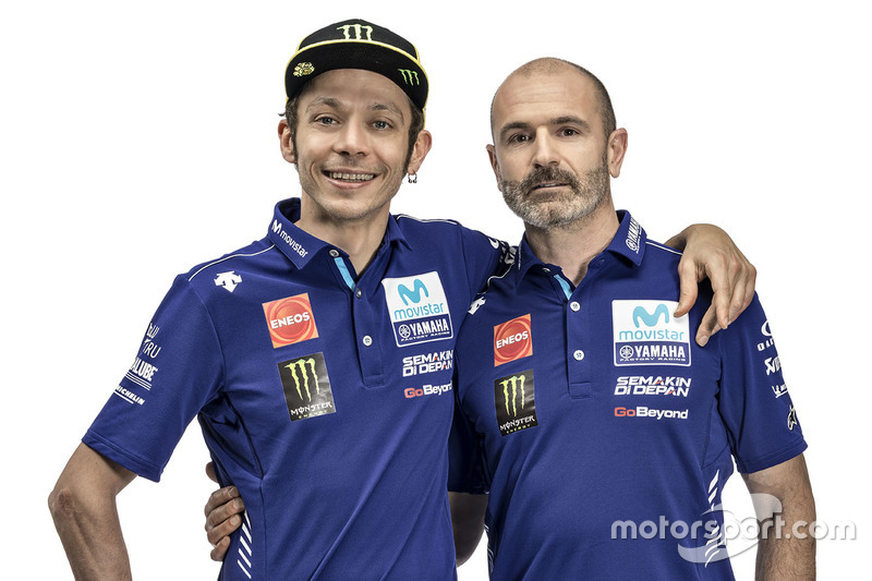 Valentino Rossi, Yamaha Factory Racing, Massimo Meregalli, Yamaha Factory Racing Team Director