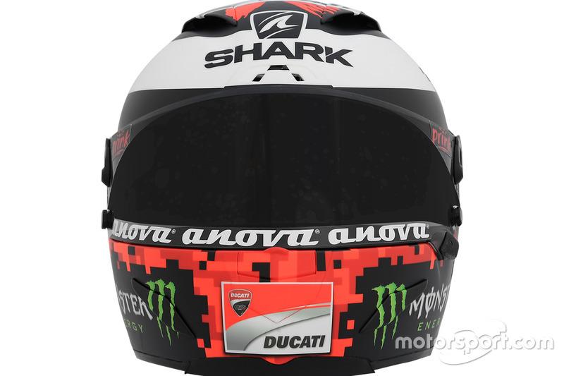 Casque de Jorge Lorenzo, Ducati Team
