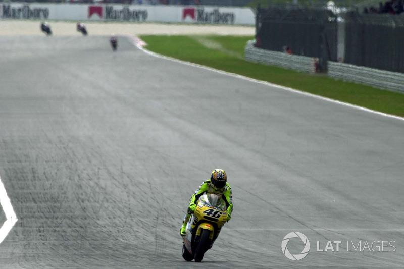 2001. Valentino Rossi
