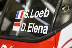 Автомобиль Citroën C3 WRC Себастьена Лёба и Даниэля Элены