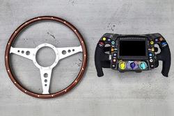 Mercedes steering wheel comparison