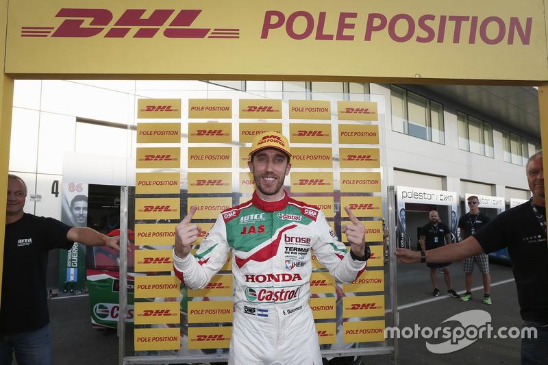 Pole position de Esteban Guerrieri, Honda Racing Team JAS, Honda Civic WTCC