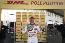 Pole position for Esteban Guerrieri, Honda Racing Team JAS, Honda Civic WTCC