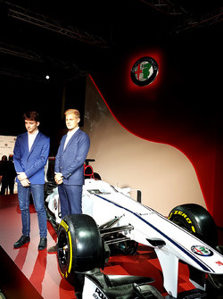 Marcus Ericsson and Charles Leclerc, Sauber