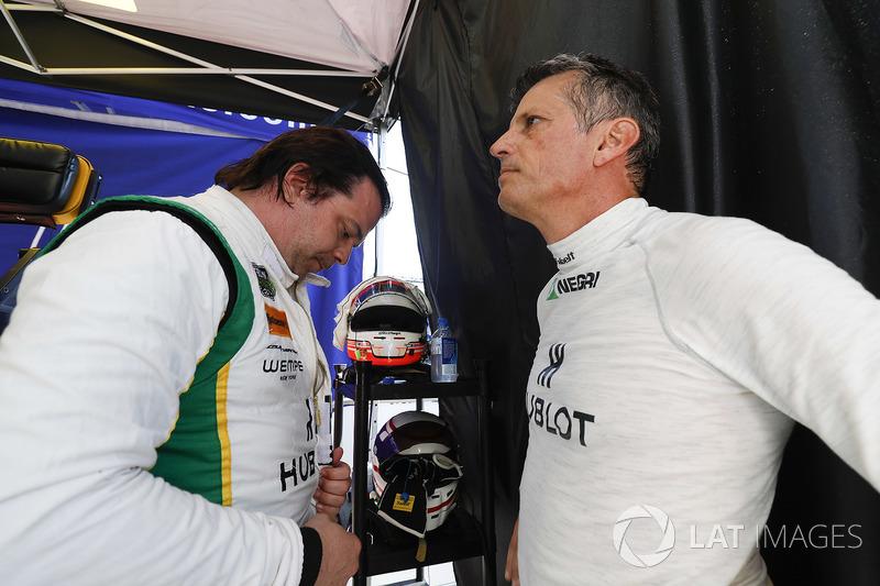 #51 Squadra Corse Garage Italia Ferrari 488 GT3, GTD: Francesco Piovanetti, Oswaldo Negri Jr