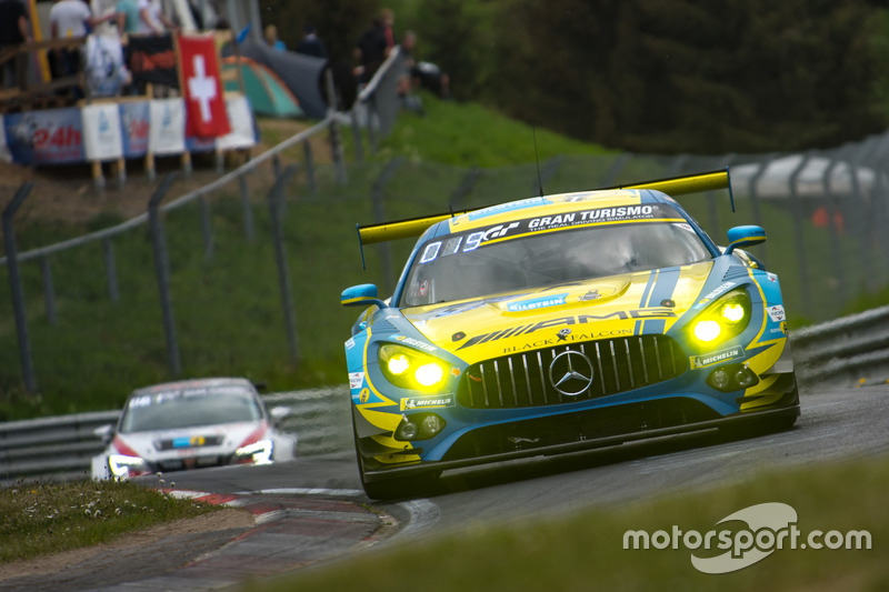 5. #5 Mercedes-AMG Team Black Falcon Mercedes-AMG GT3: Yelmer Buurman, Thomas Jäger, Jan Seyffarth, Luca Stolz