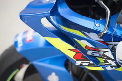 Team Suzuki MotoGP detalle de alas