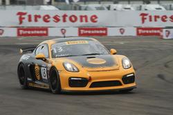#13 Pfaff Motorsports Porsche Cayman GT4 Clubsport MR: Frey Fidani