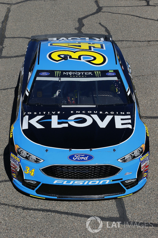 Michael McDowell, Front Row Motorsports, Ford Fusion K-LOVE RADIO