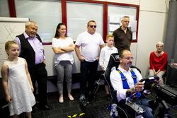 Dario Pergolini nel simulatore