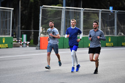 Sergey Sirotkin, Williams runs the track