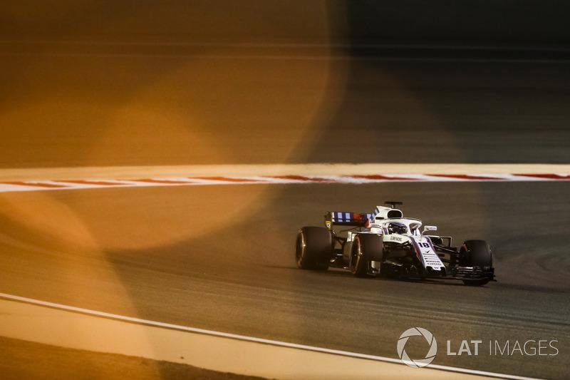 20: Lance Stroll, Williams FW41, 1'31.503