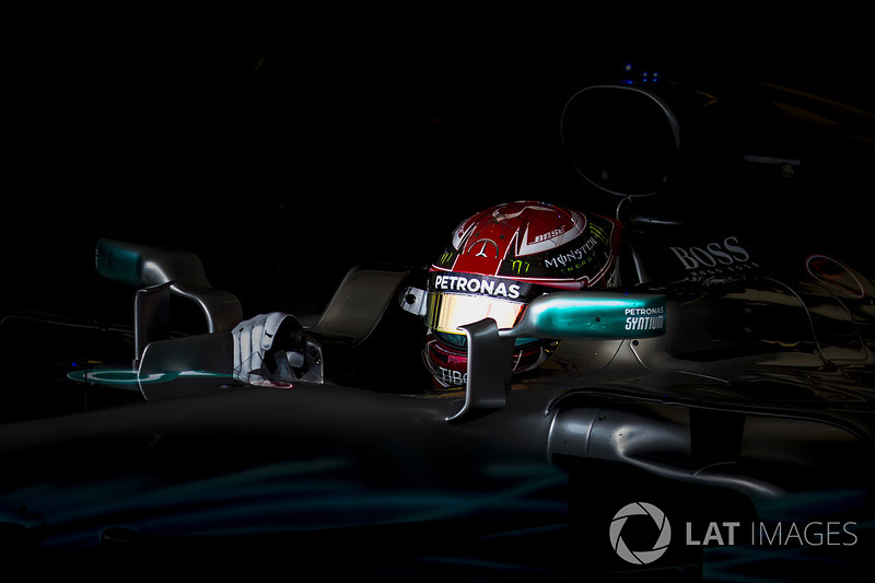 8. Lewis Hamilton, Mercedes AMG F1
