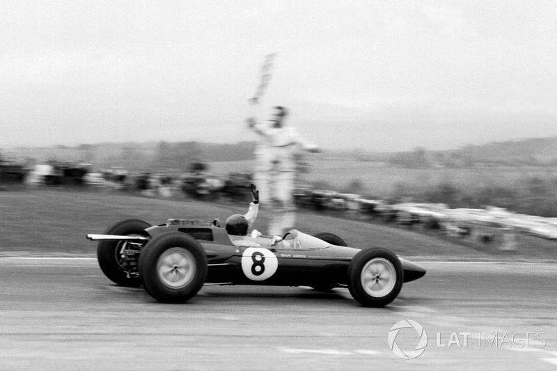 1962: Jim Clark (Lotus 25 Climax)
