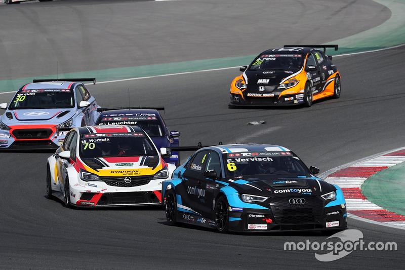 Frédéric Vervisch, Comtoyou Racing, Audi RS 3 LMS TCR