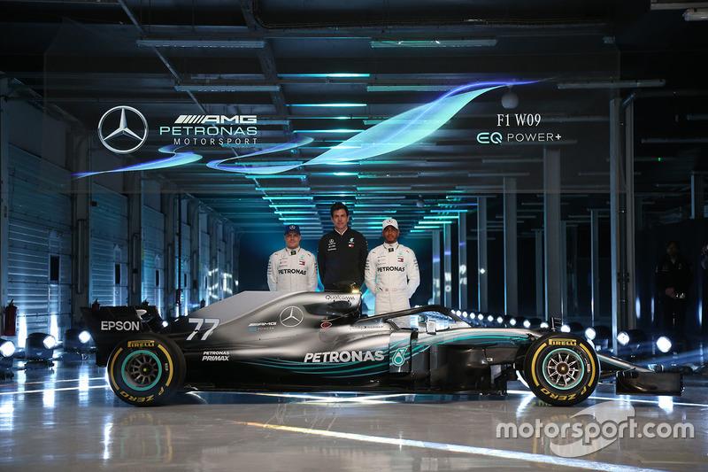 Валттері Боттас, Mercedes AMG F1, Льюіс Хемілтон, Mercedes AMG F1, Тото Вольфф, бос Mercedes AMG F1
