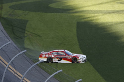 Michael Annett, JR Motorsports, Pilot Flying J Chevrolet Camaro, crash