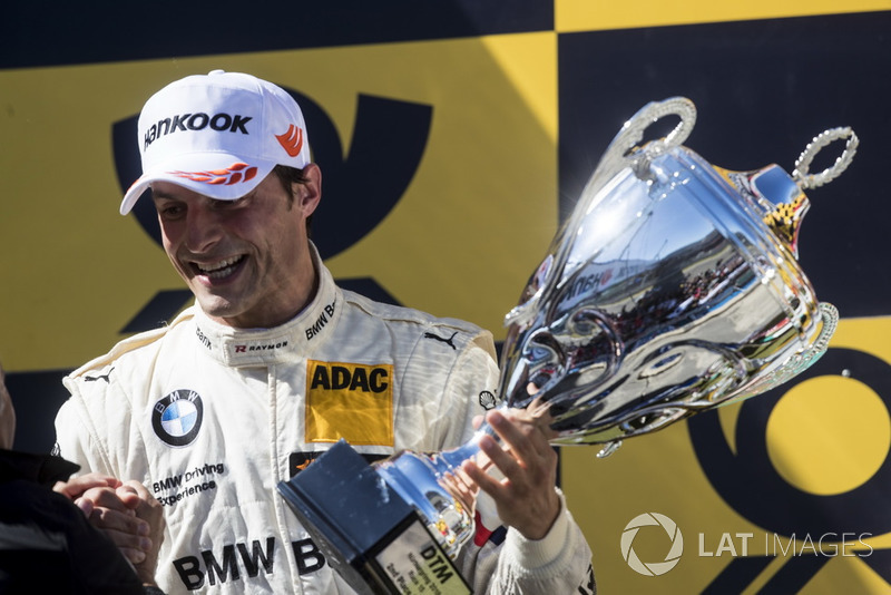 Podium kedua: Bruno Spengler, BMW Team RBM