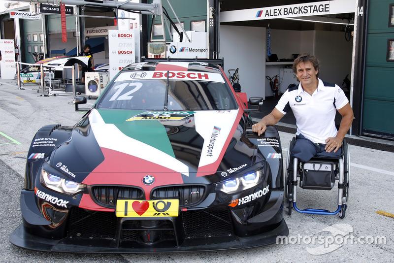І не тільки результатами Алекса Дзанарді за кермом BMW Team RMR
