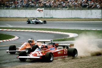 Ausritt: Gilles Villeneuve, Ferrari 126CK