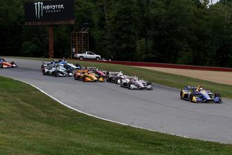 Alexander Rossi, Andretti Autosport Honda, Will Power, Team Penske Chevrolet, Ryan Hunter-Reay, Andretti Autosport Honda, Ryan Hunter-Reay, Andretti Autosport Honda