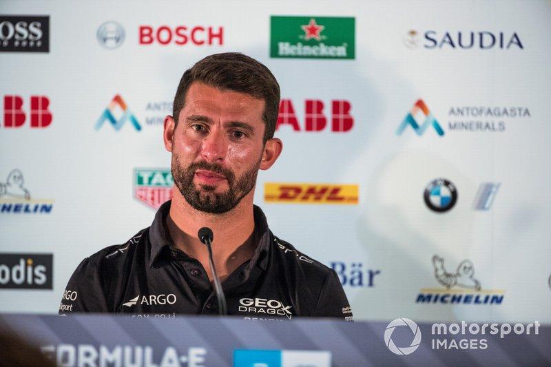 Jose Maria Lopez, GEOX Dragon Racing en la rueda de prensa