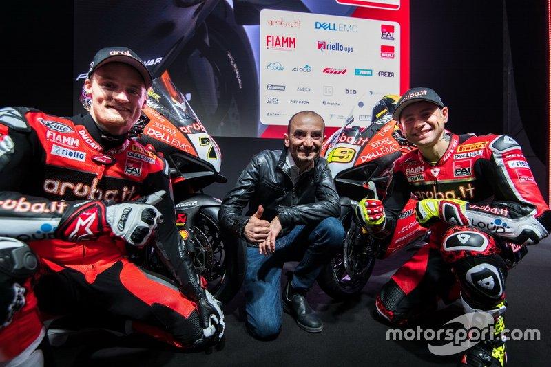 Чаз Девіс, Альваро Баутіста, Aruba.it Racing-Ducati SBK Team, Клаудіо Доменікале, генеральний директор Ducati