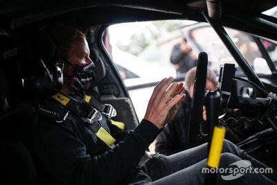 Test de Valtteri Bottas avec la Citroën