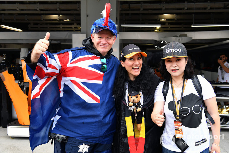 Des fans de McLaren