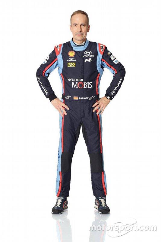Carlos Del Barrio Corral, Hyundai Motorsport