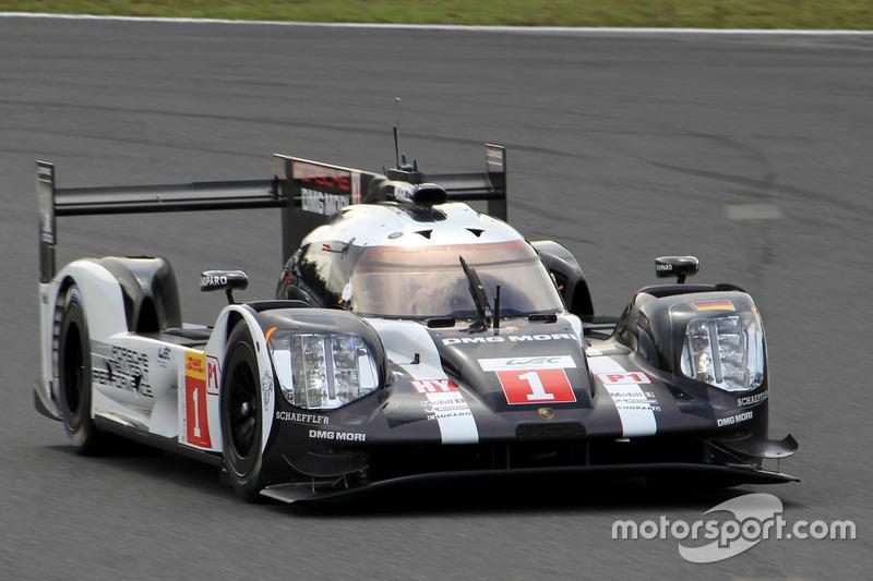 #1 Porsche Team Porsche 919 Hybrid: Тимо Бернхард, Брендон Хартли, Марк Уэббер