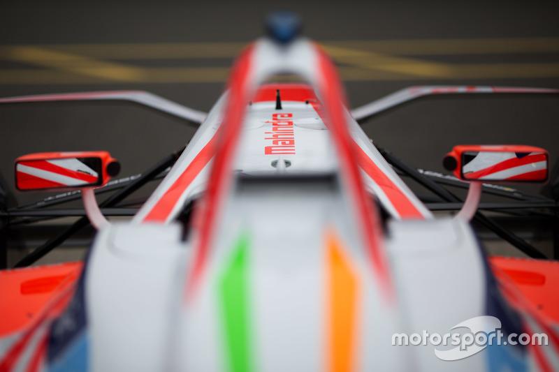 Vettura della Mahindra Racing