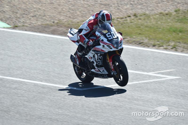 #50, Team April Moto Motors Events, Suzuki: Gregg Black, Gregory Fastre, Alex Cudlin