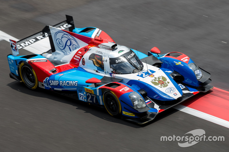 7. LMP2: #27 SMP Racing, BR01 - Nissan: Maurizio Mediani, Nicolas Minassian, David Markozov