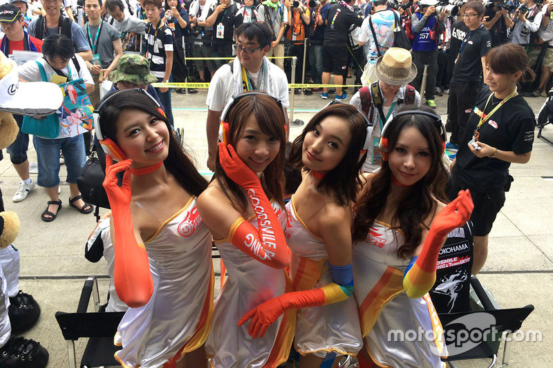 Lovely Goodsmile Racing girls
