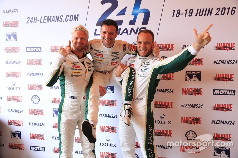 #95 Aston Martin Racing Aston Martin Vantage: Нікі Тім, Марко Соренсен, Даррен Тьорнер